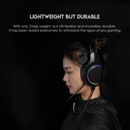 FANTECH HG16 Pro Gaming Headset 7.1 Channel RGB Gaming Headset