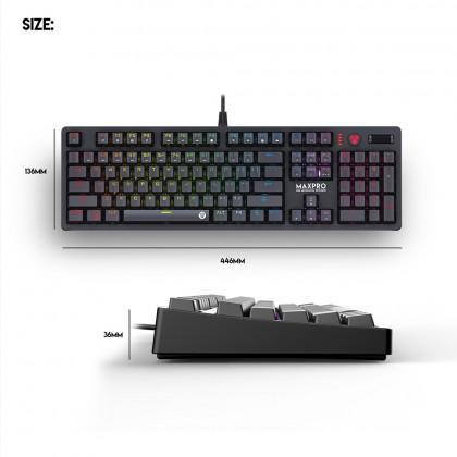Fantech MK851 Max Pro RGB Mechanical Switch Gaming Keyboard - 104 Keys