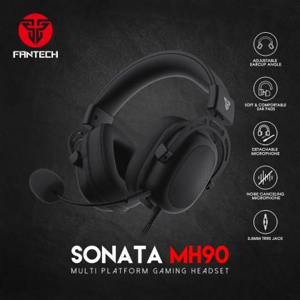 Fantech SONATA MH90 MULTI-PLATFORM GAMING HEADSET FOR LAPTOP PC OR MOBILE