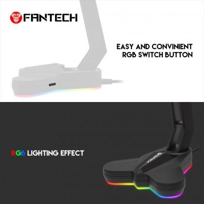 Fantech AC3001 Non-RGB | AC3001s RGB Lights Headset Tower Stand - Sakura Pink | Space White | Black