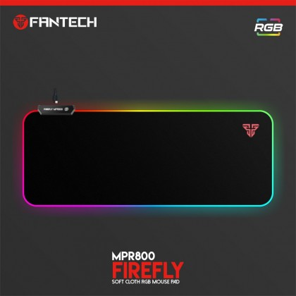 FANTECH MPR800 SOFT CLOTH RGB GAMING MOUSEPAD
