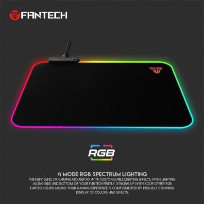 FANTECH MPR351 FIREFLY SOFT CLOTH RGB GAMING MOUSEPAD
