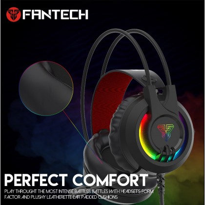 Fantech Chief II HG20 RGB Headset with Microphone Gaming Headphones for PC & PS4