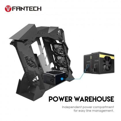 FANTECH CGX7 COBALT MIDDLE TOWER CASE PC CASING DESKTOP