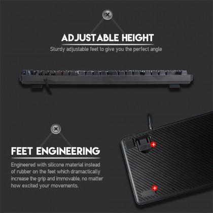 FANTECH MK852 Max Core RGB Mechanical Switch Gaming Keyboard - 104 KEYS